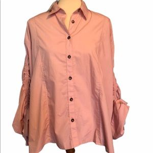 Free People It's A Cinch Button Down - S/P - NWT